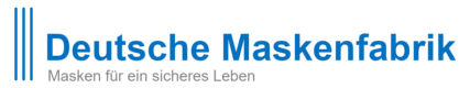 Deutsche Maskenfabrik Logo mit Strapline
